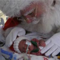 Il bacio di Babbo Natale